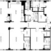 3 bedroom 3.5 baths, unit 302